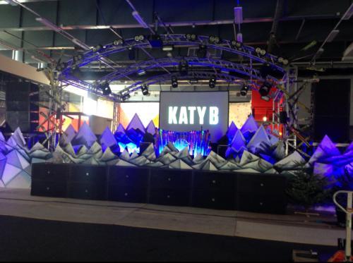 Katy B live event